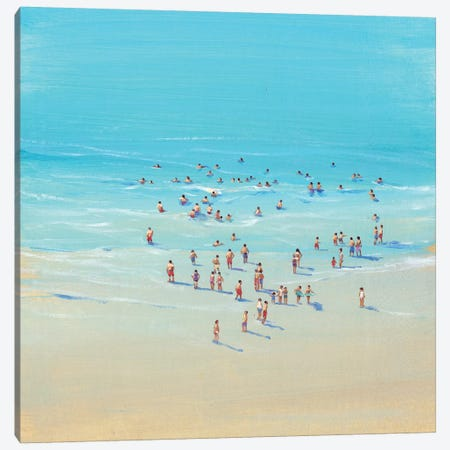 Beach Day II Canvas Print #TOT5} by Tim OToole Canvas Art