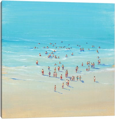 Beach Day II Canvas Art Print