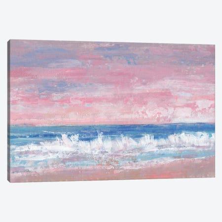Coastal Pink Horizon II Canvas Print #TOT618} by Tim OToole Canvas Art