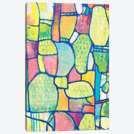 Stained Glass Composition II Canvas Print #TOT624} by Tim OToole Canvas Artwork