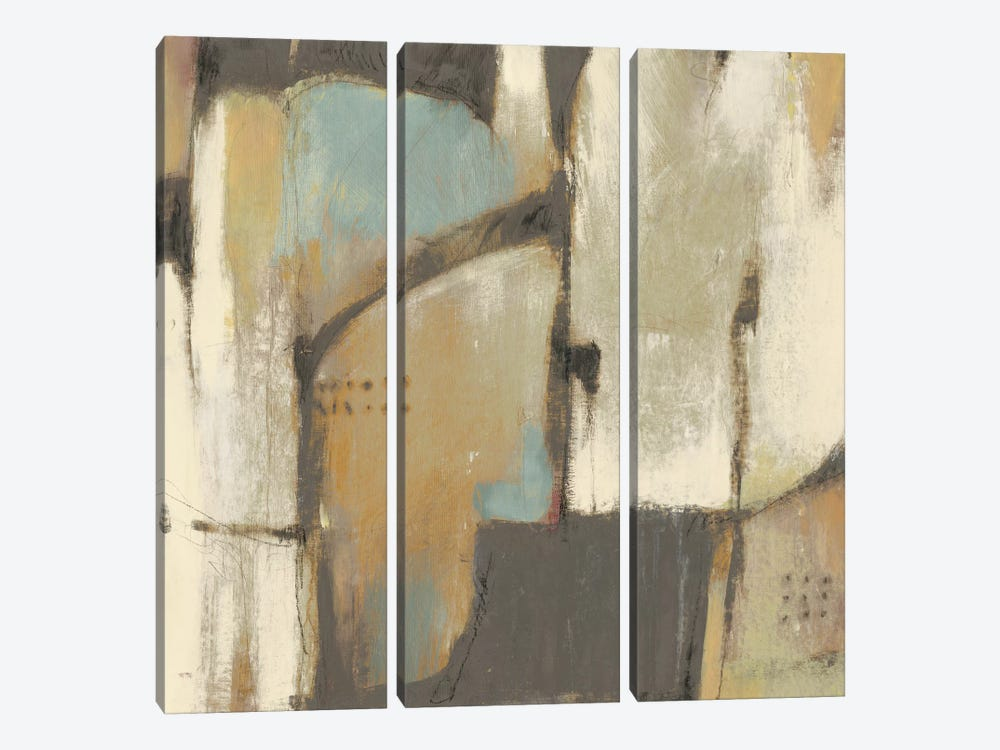 Structural Abstract I by Tim OToole 3-piece Canvas Wall Art