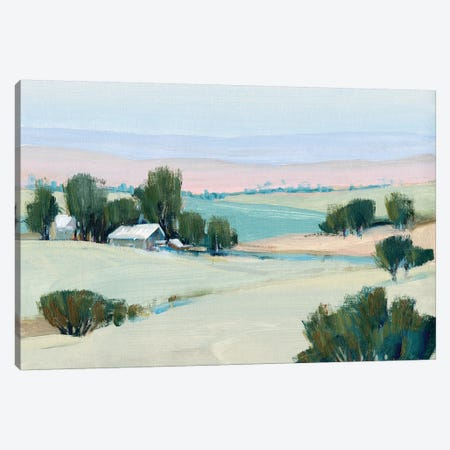 Rural Tranquility I Canvas Print #TOT646} by Tim OToole Canvas Artwork