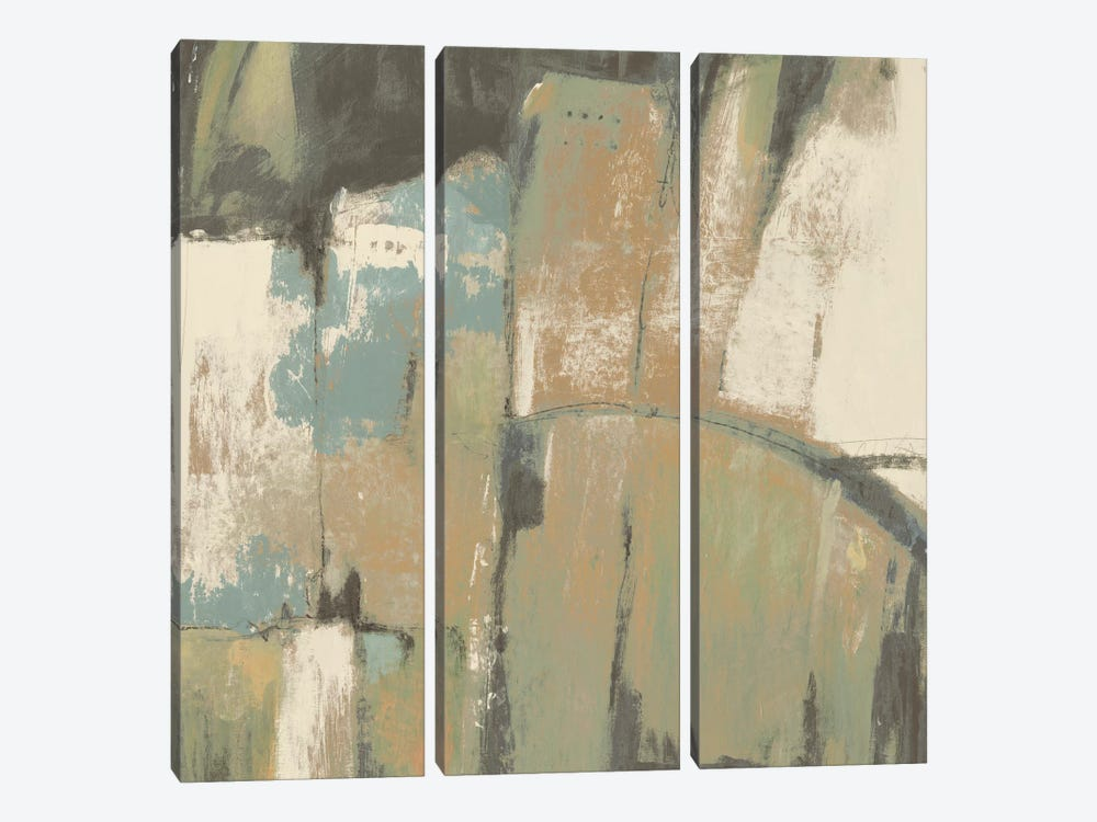 Structural Abstract II by Tim OToole 3-piece Canvas Print