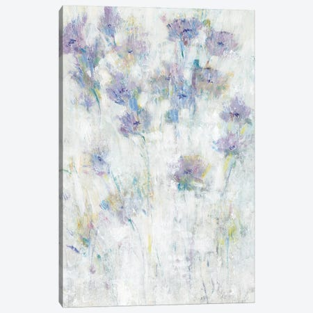 Lavender Floral Fresco I Canvas Print #TOT671} by Tim OToole Canvas Artwork