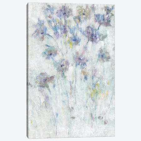 Lavender Floral Fresco II 3-Piece Canvas #TOT672} by Tim OToole Canvas Artwork