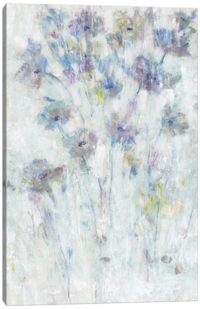 Lavender Floral Fresco II Canvas Art Print