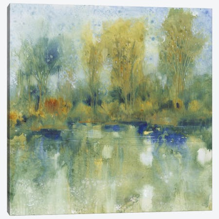 Pond Reflection I Canvas Print #TOT681} by Tim OToole Canvas Art Print