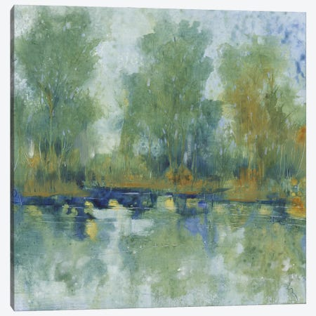 Pond Reflection II Canvas Print #TOT682} by Tim OToole Art Print