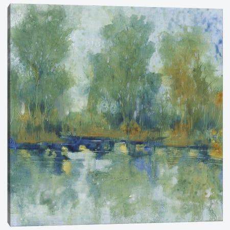 Pond Reflection II Canvas Print #TOT682} by Tim OToole Art Print
