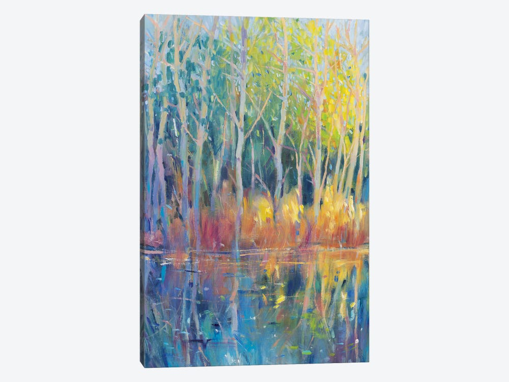 Reflected Trees II by Tim OToole 1-piece Art Print