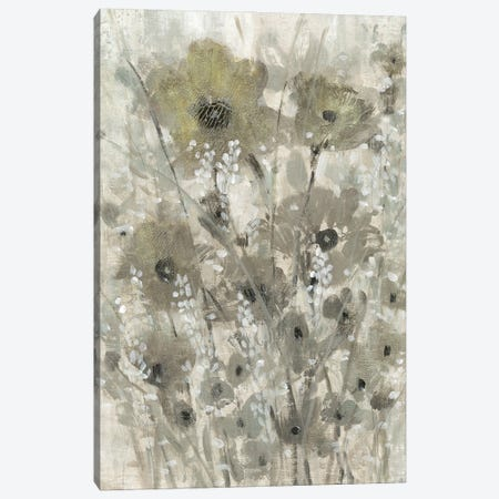 Shimmering Flowers II 3-Piece Canvas #TOT686} by Tim OToole Canvas Artwork