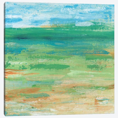 Spring Green Pasture I Canvas Print #TOT687} by Tim OToole Canvas Artwork