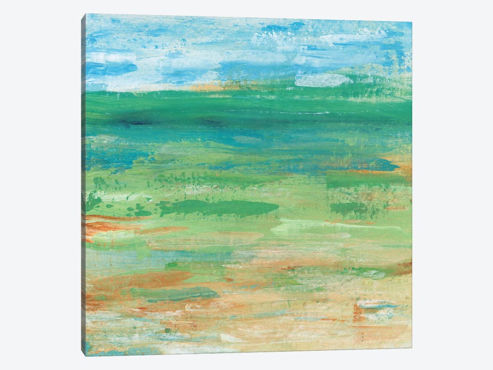 Spring Green Pasture I by Tim OToole 1-piece Canvas Wall Art