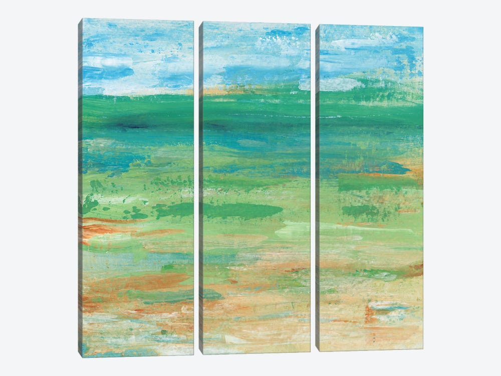 Spring Green Pasture I by Tim OToole 3-piece Canvas Artwork