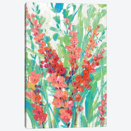 Tropical Summer Blooms II Canvas Print #TOT690} by Tim OToole Canvas Wall Art