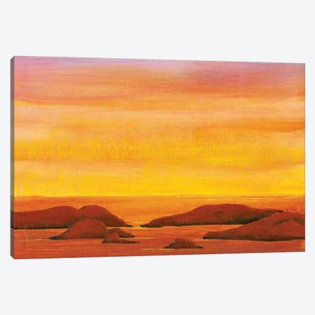 Ocean Glow II Canvas Print #TOT696} by Tim OToole Art Print