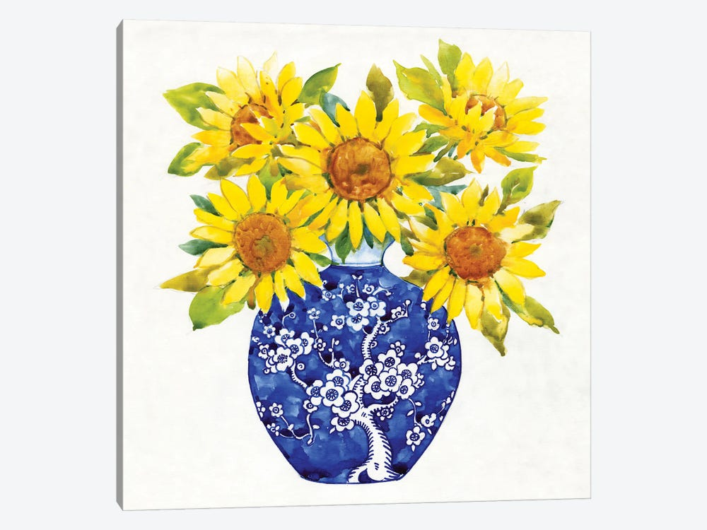 Sun Flower Still Life I by Tim OToole 1-piece Art Print