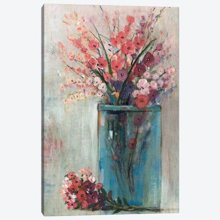 Blue Jar I Canvas Print #TOT705} by Tim OToole Art Print