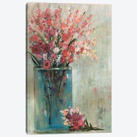 Blue Jar II Canvas Print #TOT706} by Tim OToole Canvas Print
