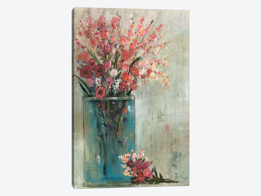 Blue Jar II by Tim OToole 1-piece Canvas Wall Art