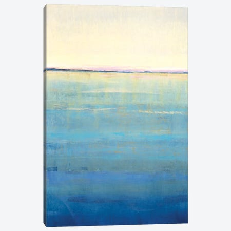 Ocean Blue Horizon I Canvas Print #TOT715} by Tim OToole Canvas Art