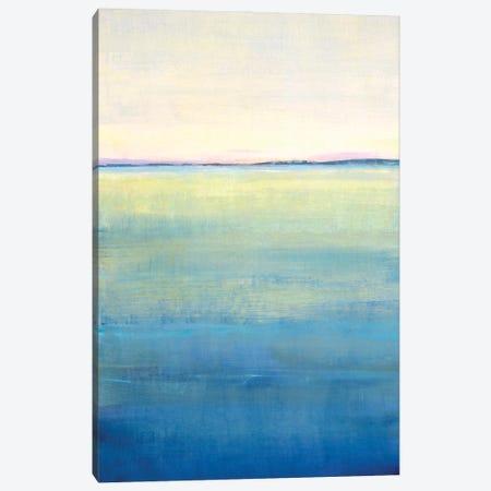 Ocean Blue Horizon II Canvas Print #TOT716} by Tim OToole Canvas Artwork
