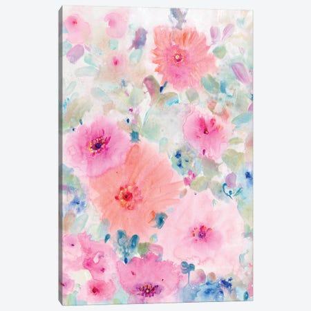 Bright Floral Design II Canvas Print #TOT731} by Tim OToole Canvas Art Print