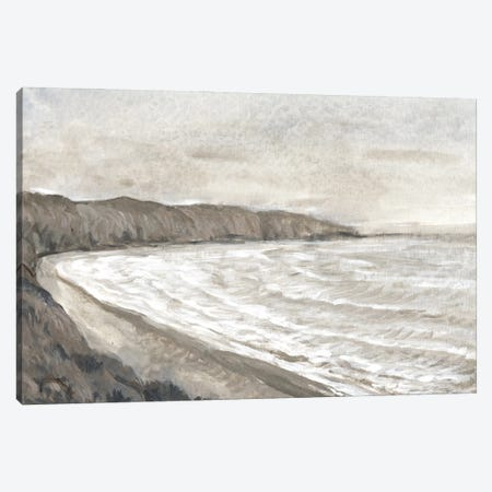 Coastal Shoreline I Canvas Print #TOT738} by Tim OToole Canvas Art Print