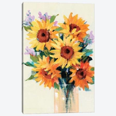 Fresh Cut Flowers II Canvas Print #TOT793} by Tim OToole Canvas Print