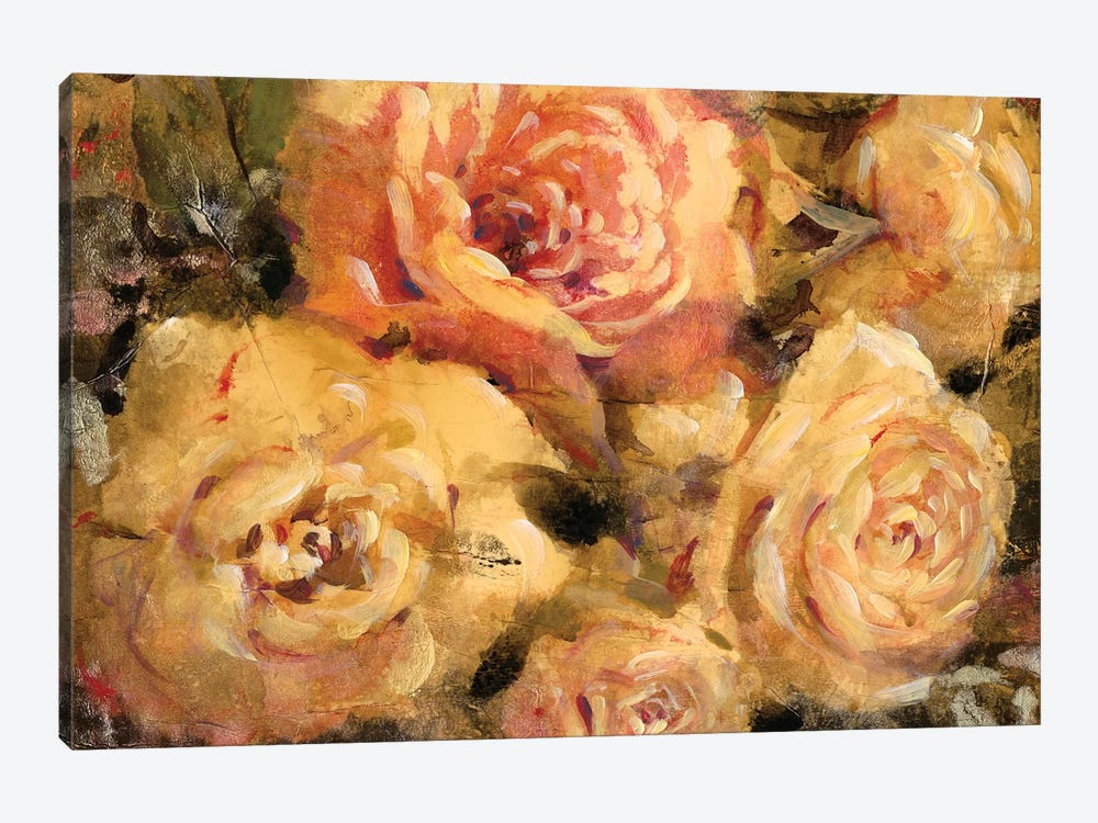 Floral In Bloom II by Tim O'Toole 1-piece Canvas Art Print