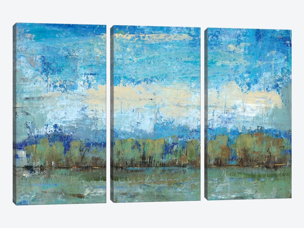Forest Edge I by Tim OToole 3-piece Canvas Wall Art