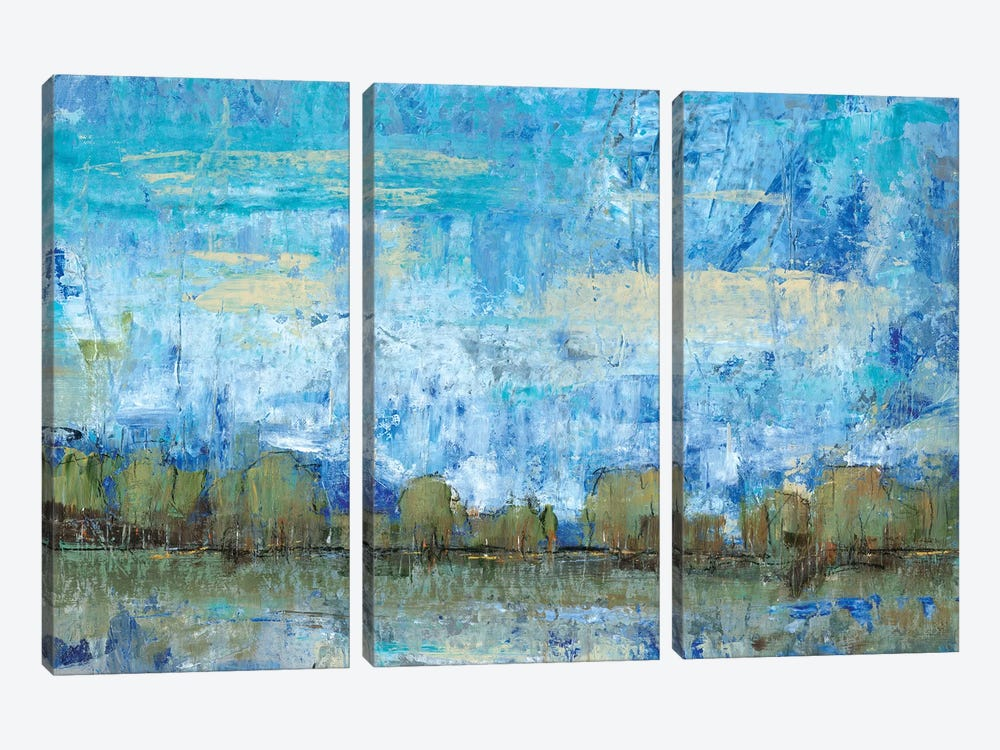 Forest Edge II by Tim OToole 3-piece Canvas Art Print