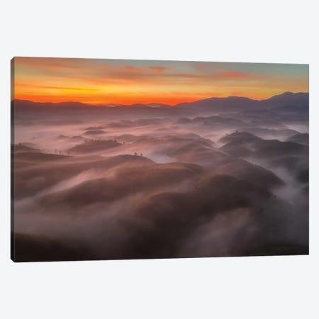 Mist In Highland Canvas Print #TPH30} by Trung Pham Canvas Art Print