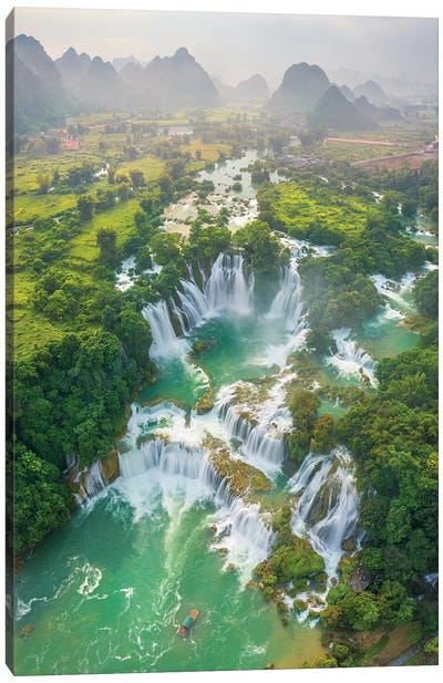 Ban Gioc Waterfall Canvas Art Print