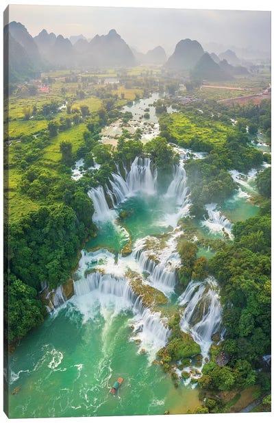 Ban Gioc Waterfall Canvas Art Print
