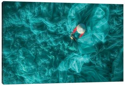 Sewing Net Canvas Art Print