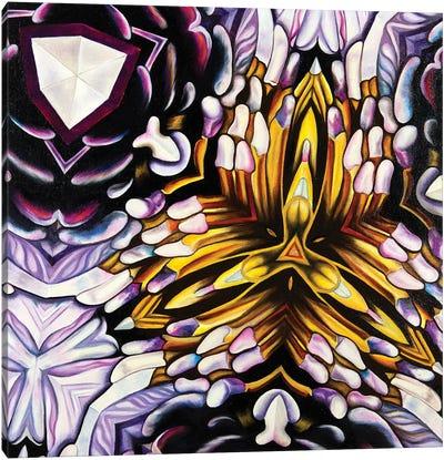 Purple Kal Canvas Art Print
