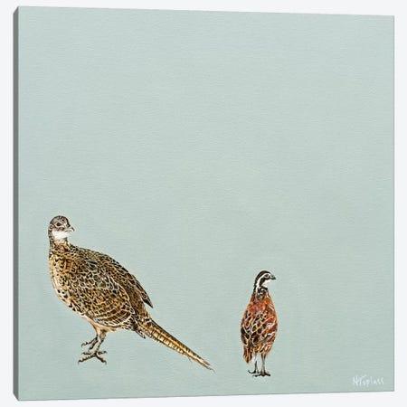 Regal Roam I Canvas Print #TPL26} by Natalie Toplass Art Print