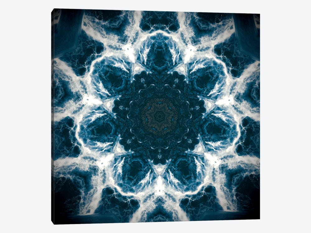 Splash from Above by 5by5collective 1-piece Canvas Print