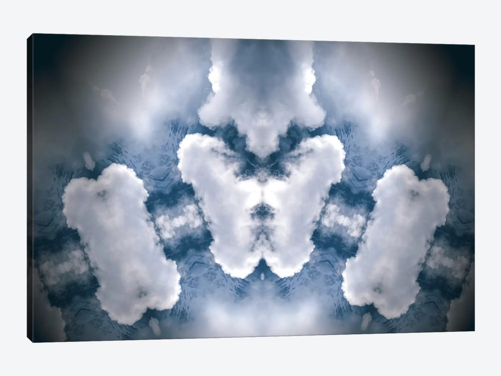 In the Clouds 1-piece Canvas Art Print