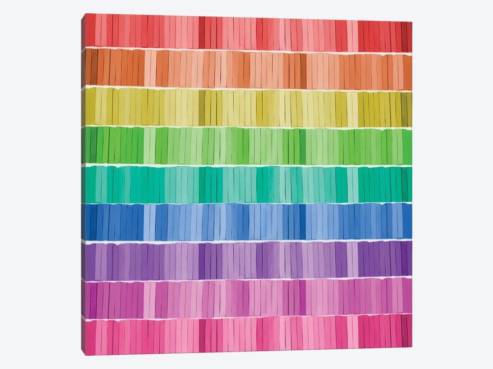 Graphic Rainbow Effect by Tom Quartermaine 1-piece Canvas Wall Art