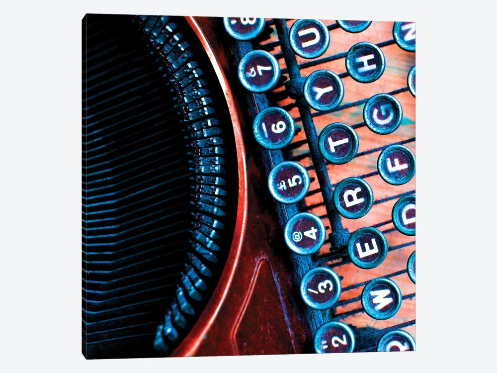 High Contrast Typewriter I by Tom Quartermaine 1-piece Canvas Print