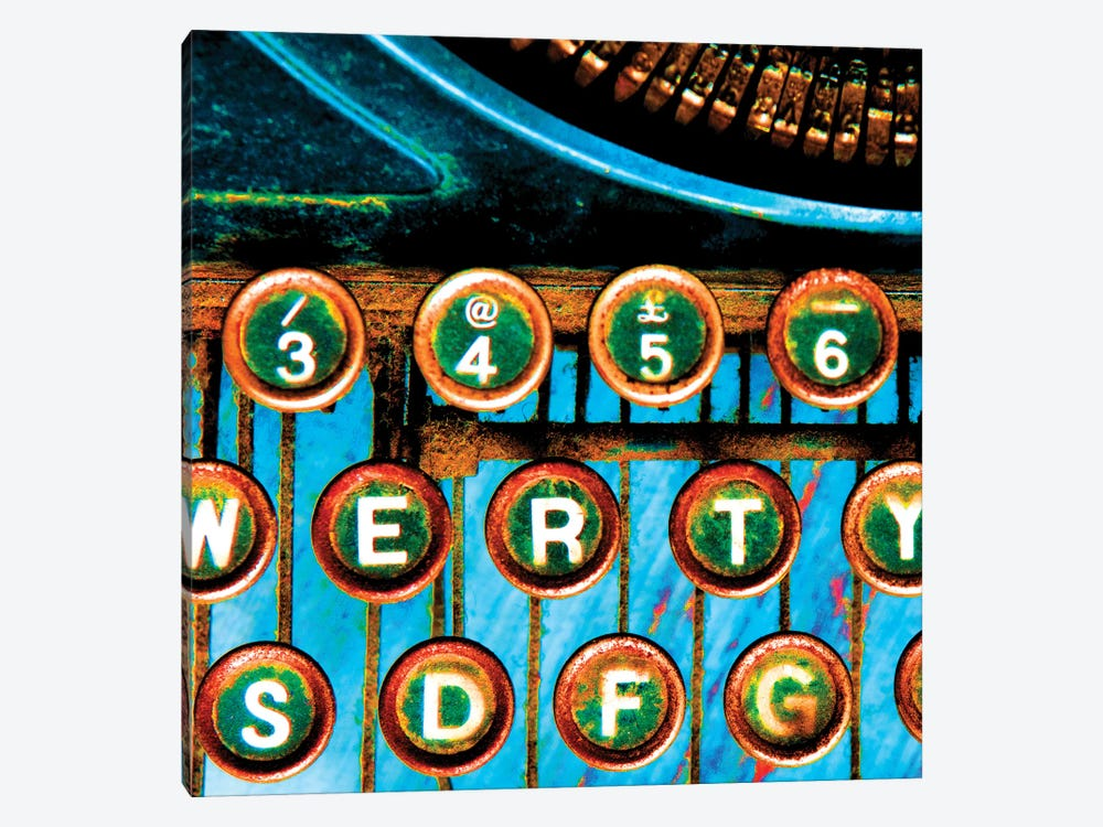 High Contrast Typewriter II by Tom Quartermaine 1-piece Canvas Wall Art