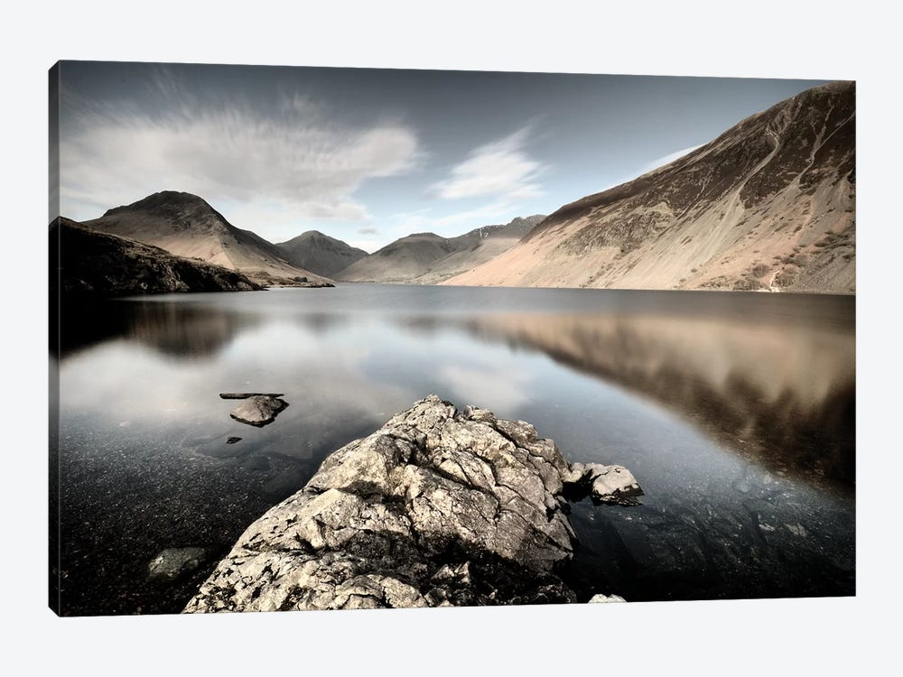 Lake And Mountains II by Tom Quartermaine 1-piece Canvas Art Print