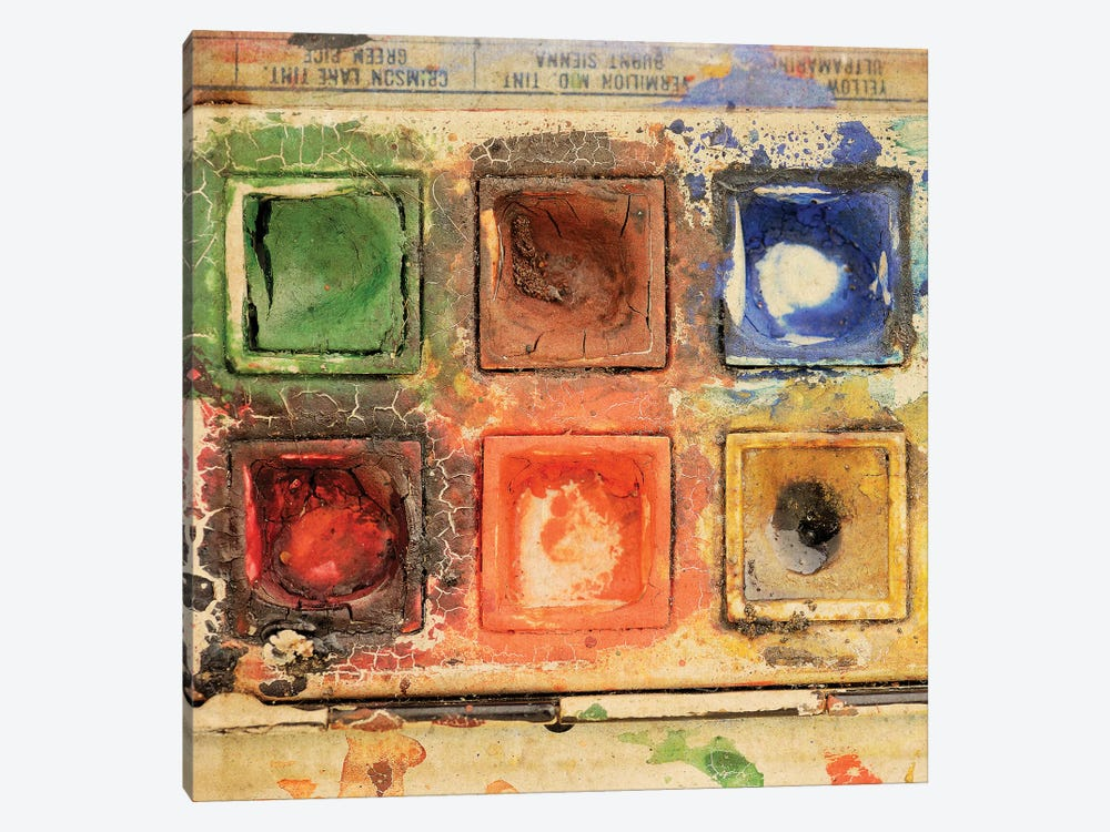 Lovely Old And Used Paints by Tom Quartermaine 1-piece Canvas Artwork