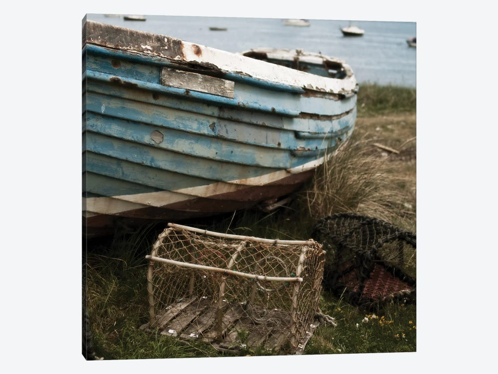 Old Boat I by Tom Quartermaine 1-piece Canvas Art