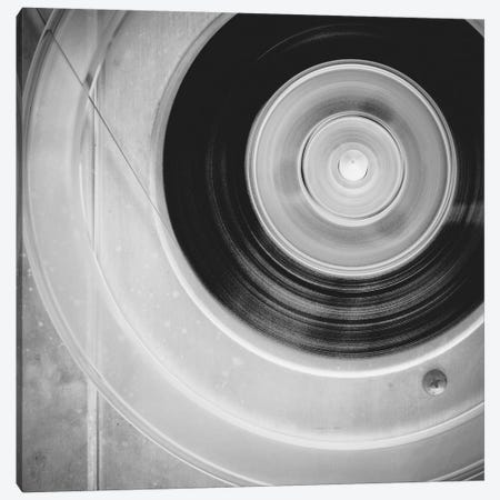Close up Reel to Reel I Canvas Print #TQU319} by Tom Quartermaine Canvas Print