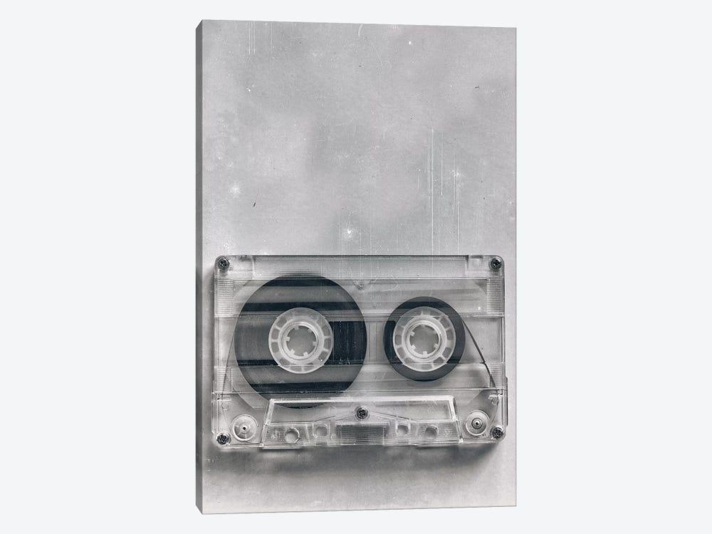 Retro Cassette Grunge by Tom Quartermaine 1-piece Canvas Art