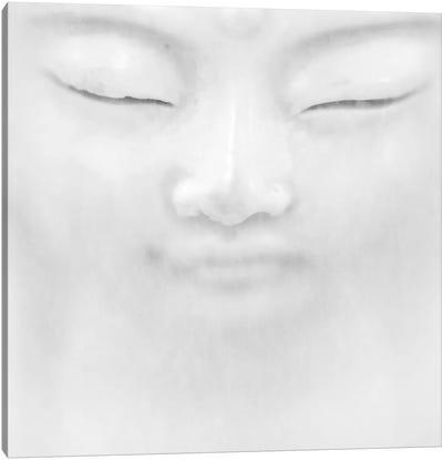 B&W Buddha I Canvas Art Print