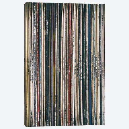 Vinyl Collection I Canvas Print #TQU336} by Tom Quartermaine Canvas Artwork